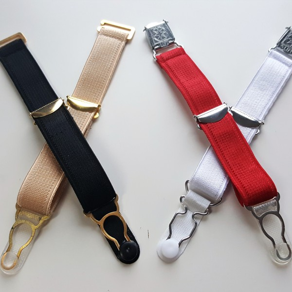Options for detachable suspenders