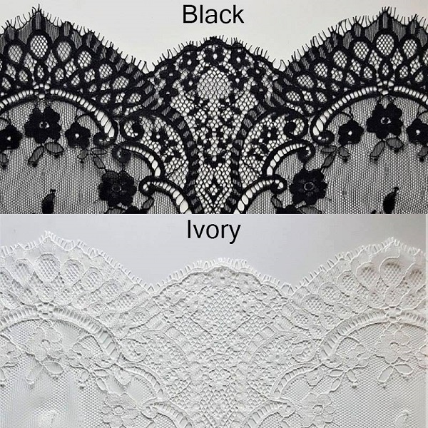 Adara lace options