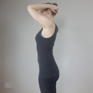 Side view of figure- no corset