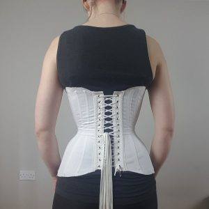 Back view of figure- Second toile