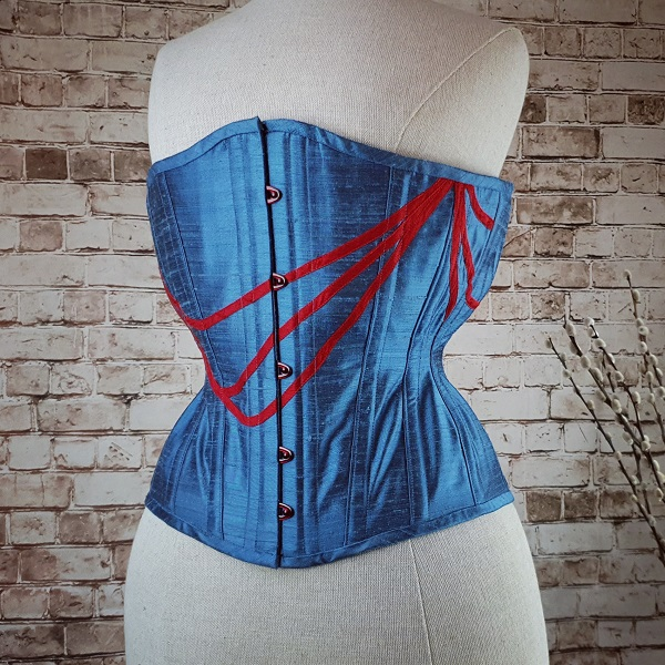 military inspired male corset